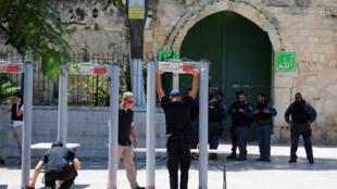 A Esplanada das Mesquistas, em Jerusalém, foi reaberta neste domingo, 16 de julho de 2017, após 2 dias de fechamento.