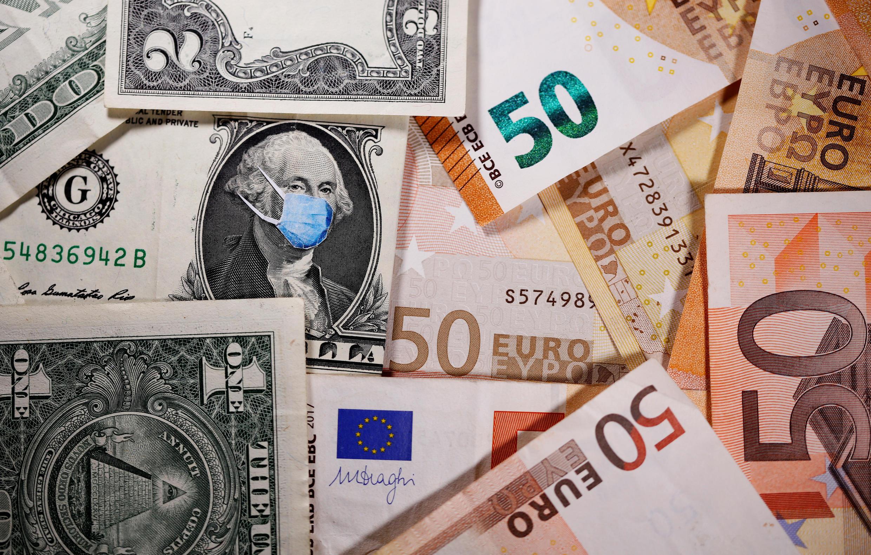 МВФ предсказал рекордный спад европейского ВВП на 7,5% и мирового на 3% в 2020 году.