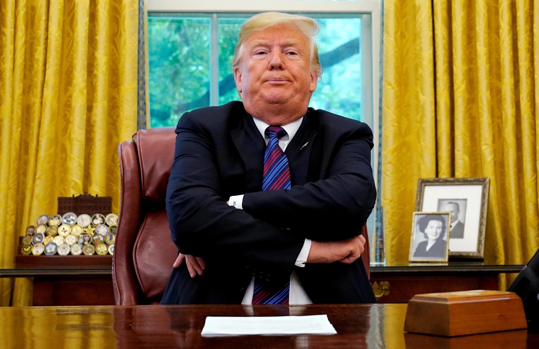 Le président américain Donald Trump, à la Maison Blanche.