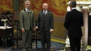 Первый однополый брак в Великобритании, Брайтон, 29 марта 2014 года