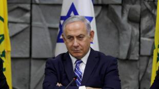 Thủ tướng Benyamin Netanyahu đã bác bỏ mọi chỉ trích về bạo lực tại biên giới Gaza - Israël ngày 30/03/2018.