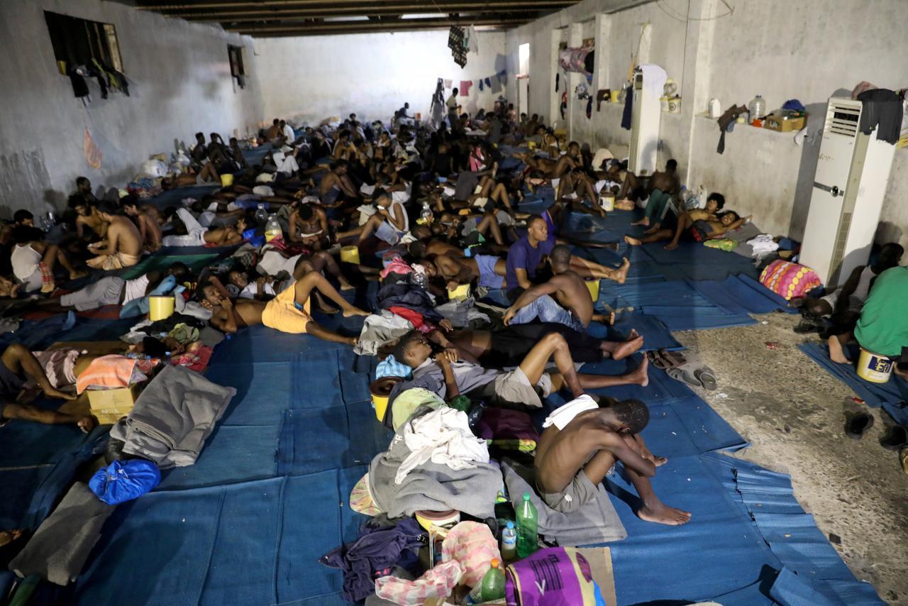 Wasu 'yan cirain Afrika a Libya