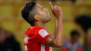 Radamel Falcao scored his 12th goal of the season in Monaco's 1-1 draw with Montpellier.