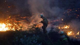 La violencia y velocidad de las llamas llaman la atención de las víctimas del incendio en Portugal.