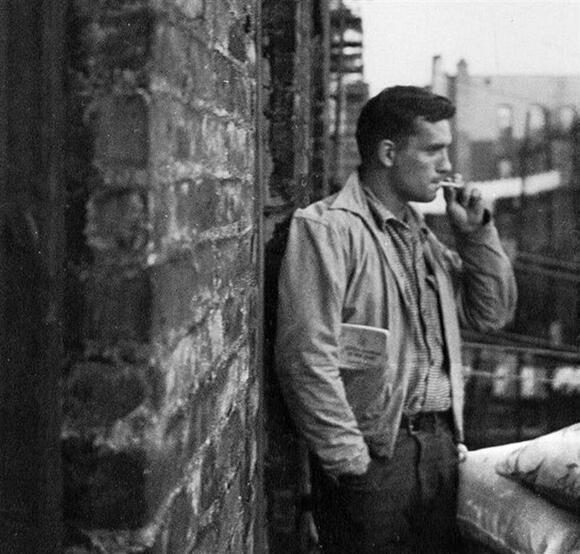 O escritor norte-americano Jack Kerouac (1922-1969).