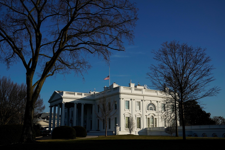 États-Unis - vue de la maison blanche Washington - USA White House