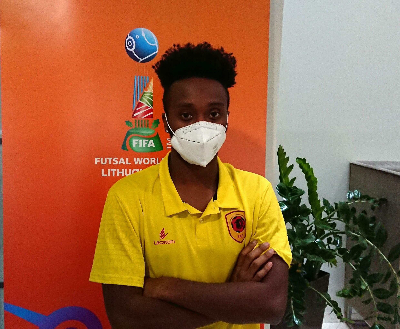 João Neves - Internacional Angolano - Angola - Futsal - FIFA - Mundial - Desporto - Lituânia