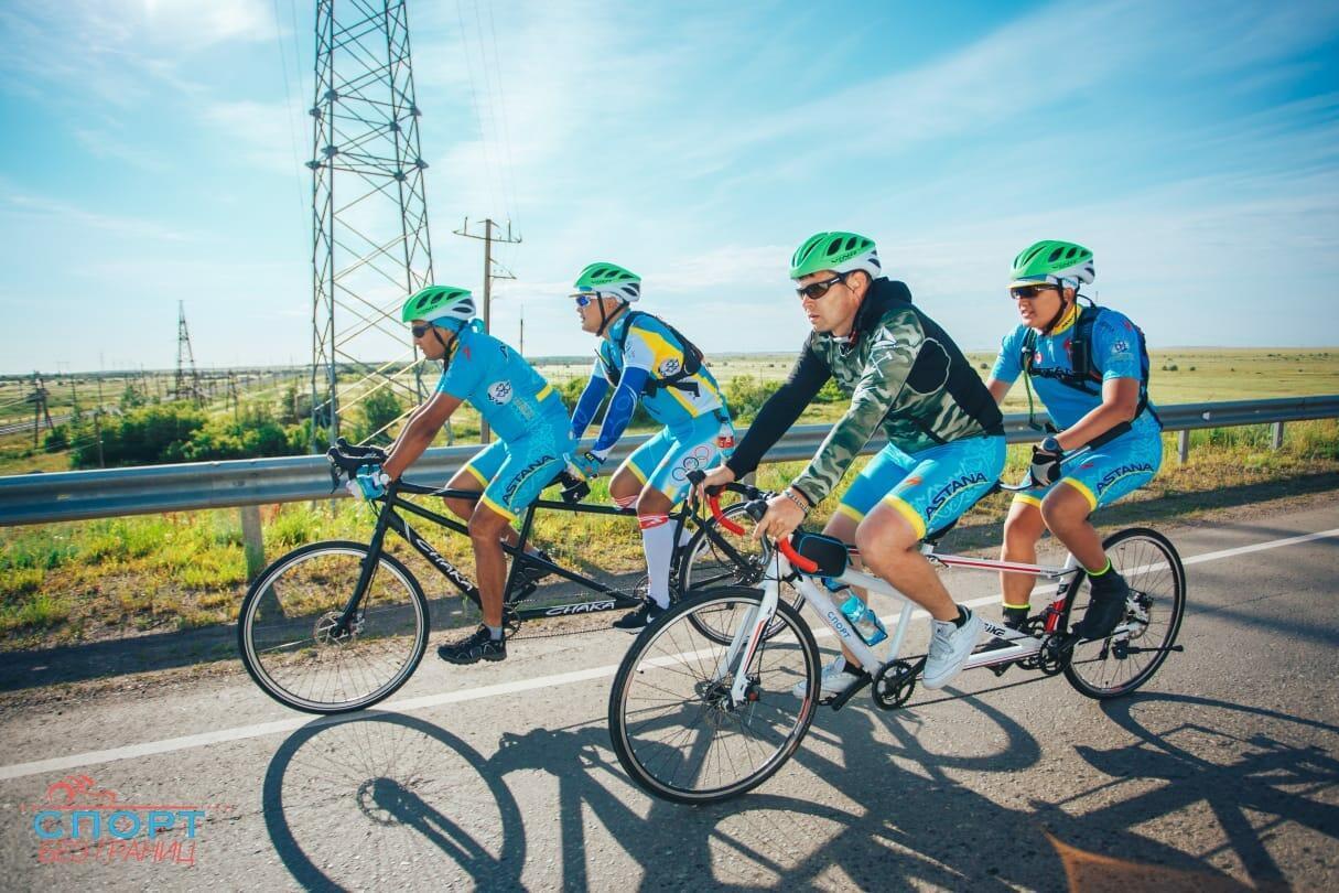 Всреднем засутки велосипедисты преодолевают 200 километров