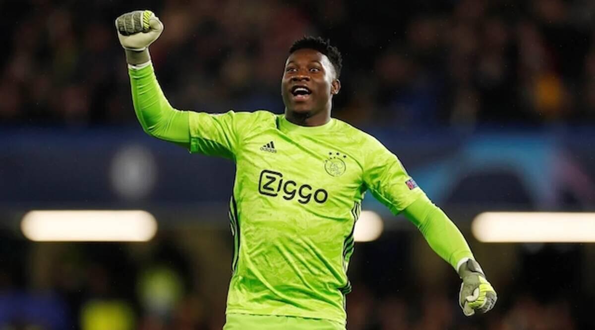 Mai tsaron ragar tawagar kwallon kafar kasar Kamaru Andre Onana dake kungiyar Ajax a kasar Holland.