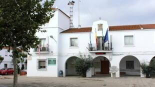 Mairie de Guadiana del Caudillo en Espagne.
