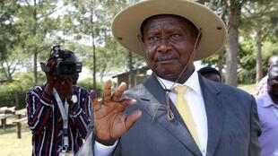 Shugaban kasar Uganda Yoweri Museveni