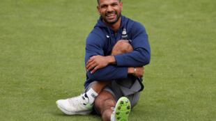 Indian batsman Shikhar Dhawan scored a sparkling hundred against Pakistan.