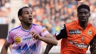 Saber Khlifa, le joueur d'Evian-Thonon-Gaillard.