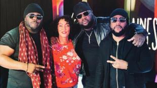 Le groupe de rap français Ärsenik avec Calbo et Lino, et en guest T.Killa.