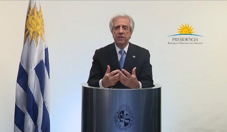 Tabaré Vazquez, presidente do Uruguai