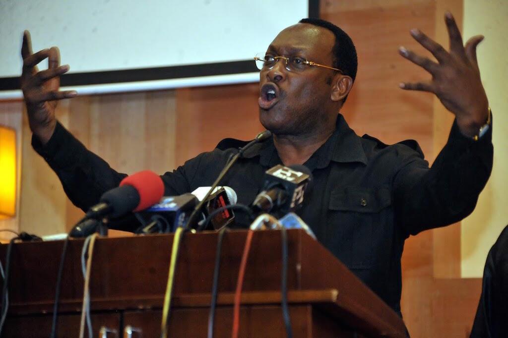 Freeman Mbowe, shugaban jam'iyyar adawa a Tanzania.