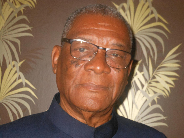 Evaristo Carvalho, candidato da ADI às eleições presidenciais em São Tomé e Príncipe