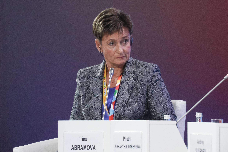 Директор Института Африки РАН Ирина Абрамова
