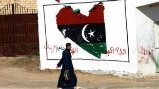 En Libye, le 22 février 2012.