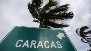 A proximité de l'aéroport de Caracas au Venezuela, pays d'exil pour Edward Snowden ?