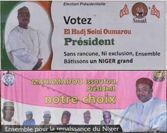 Les campagnes officielles des candidats pour le deuxième tour de la présidentielle au Niger.