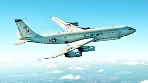 网传美军E-8C指挥机