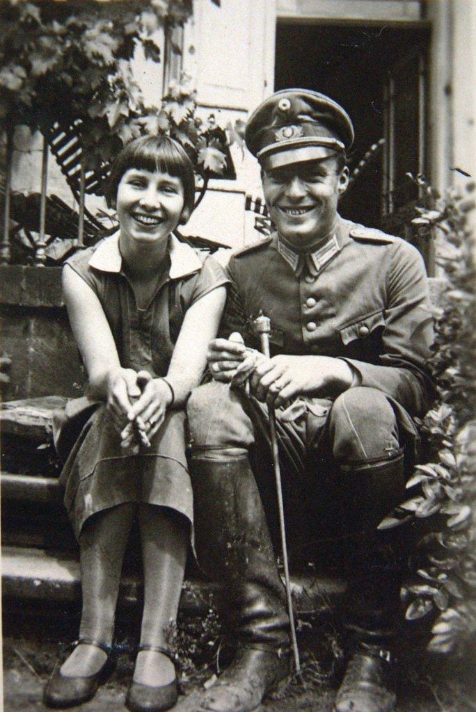 Клаус и Нина Штенк фон Штауффенберг