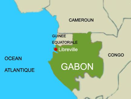 Le Gabon.