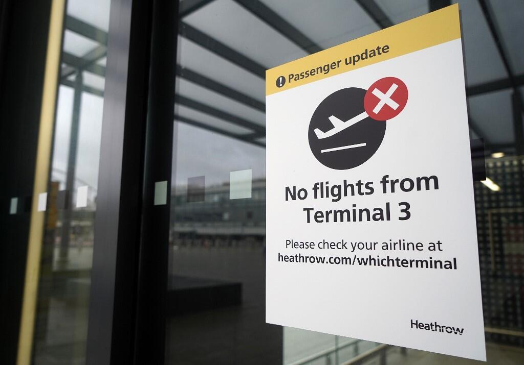 Aéroport Heathrow Londres terminal 3