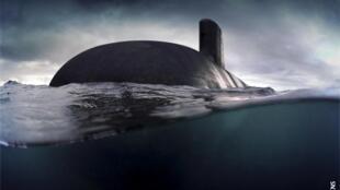 Tàu ngầm tàng hình Barracuda mà Pháp sẽ bán cho Úc.