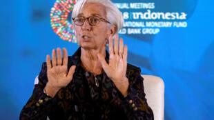 លោកស្រី Christine Lagarde អគ្គនាយិកា IMF