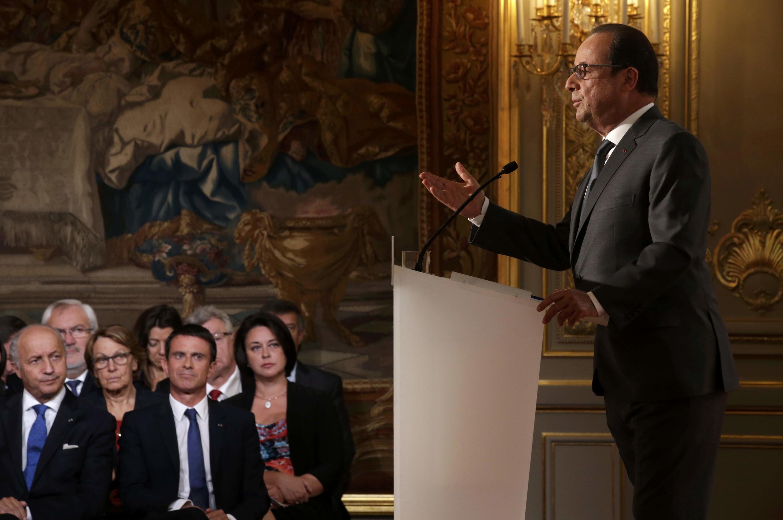 Francois Hollande, presidente de França