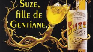 """Рекламный плакат """"Suze - дочь генциана"""