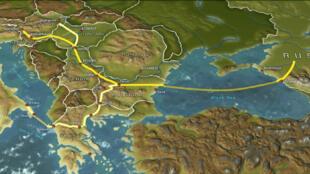 EDF, Eni et Wintershall  ont signé avec Gazprom un pacte d'actionnaires leur accordant 50% dans le consortium chargé de la section sous-marine du gazoduc South Stream.