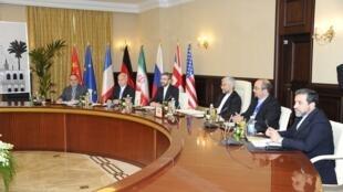 هیئت ایرانی در مذاکرات بغداد