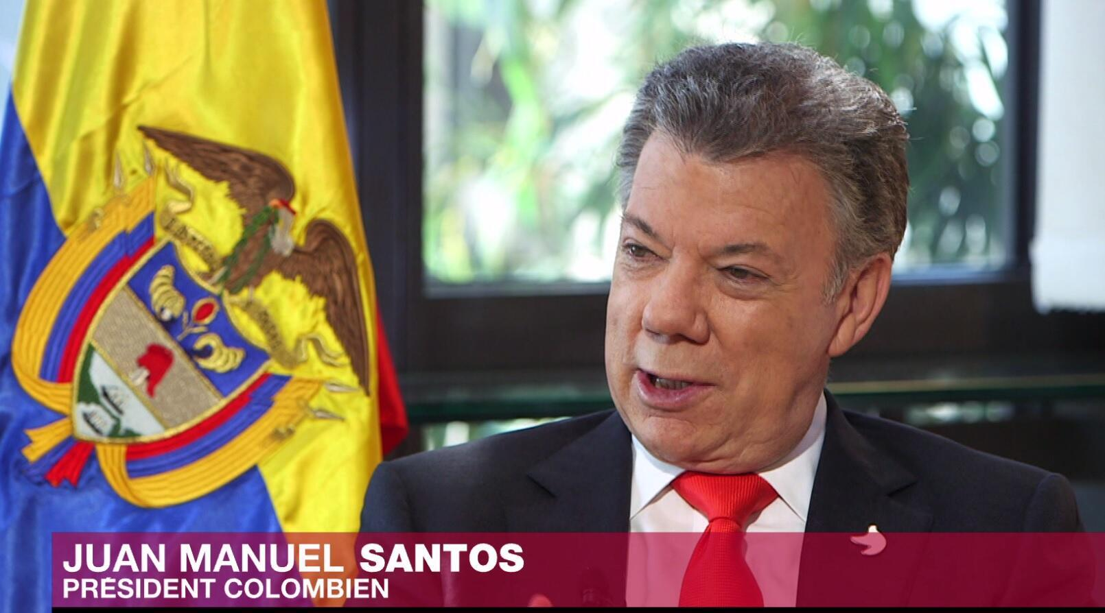 Presidente de Colômbia, Juan Manuel Santos, sobre desarmamento das FARC, em entrevista à RFI