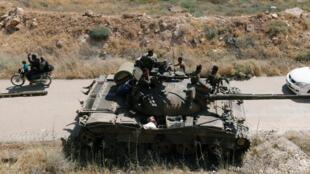 Un char de l'armée de Bachar el-Assad. (Image d'illustration)