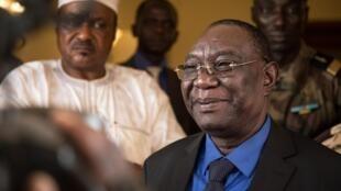 Rais wa zamani wa Jamhuri ya Afrika ya Kati Michel Djotodia, aliporudi Bangui, Januari 10, 2020.
