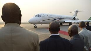Michel Djotodia leaves Bangui for N'Djamena on Thursday