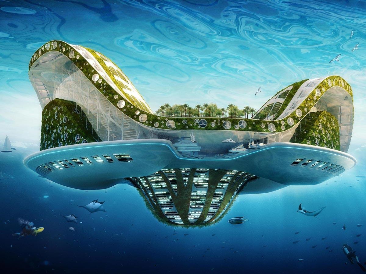 Lilypad, một mô hình thành phố nổi trong tương lai