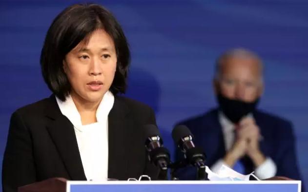 拜登提名出任美国贸易代表的华裔女律师戴琦资料图片