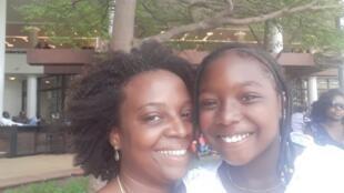 Laurimar conta que o ex-companheiro pediu à Justiça nigeriana que a filha ficasse na África até concluir os estudos.