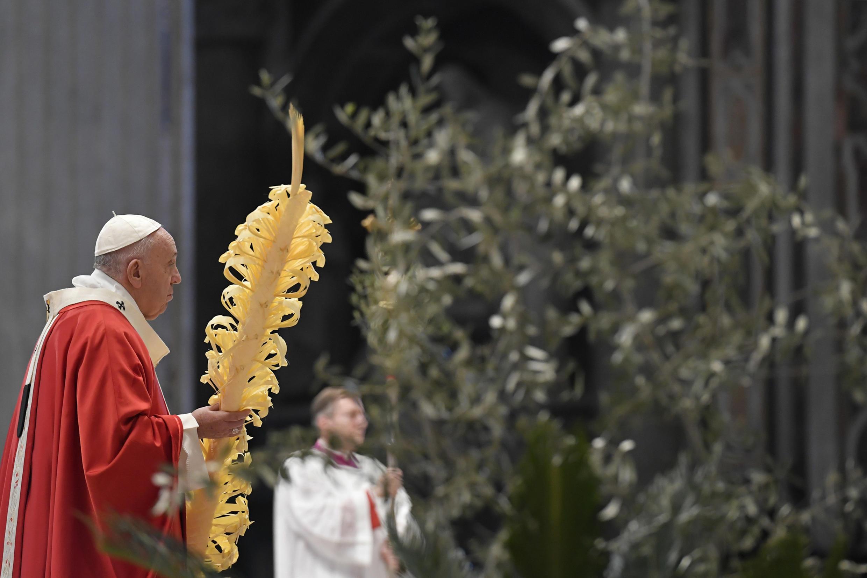Papa Francisco no Domingo de Ramos  05 04 2020