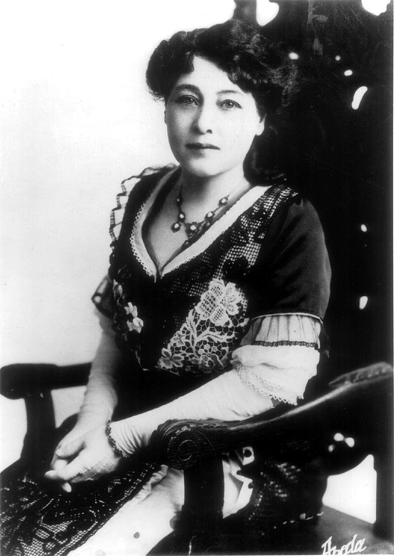 Первая кинорежиссер-женщина Алис Ги-Блаше