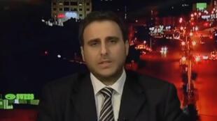 Majed Bamya, diplomate palestinien du ministère des Affaires étrangères.