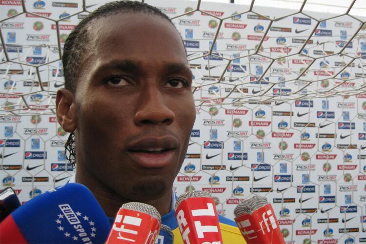Dan wasan Chelsea Didier Drogba