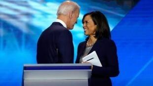 Shugaban Amurka mai jiran gado Joe Biden da mataimakiyarsa Kamala Haris