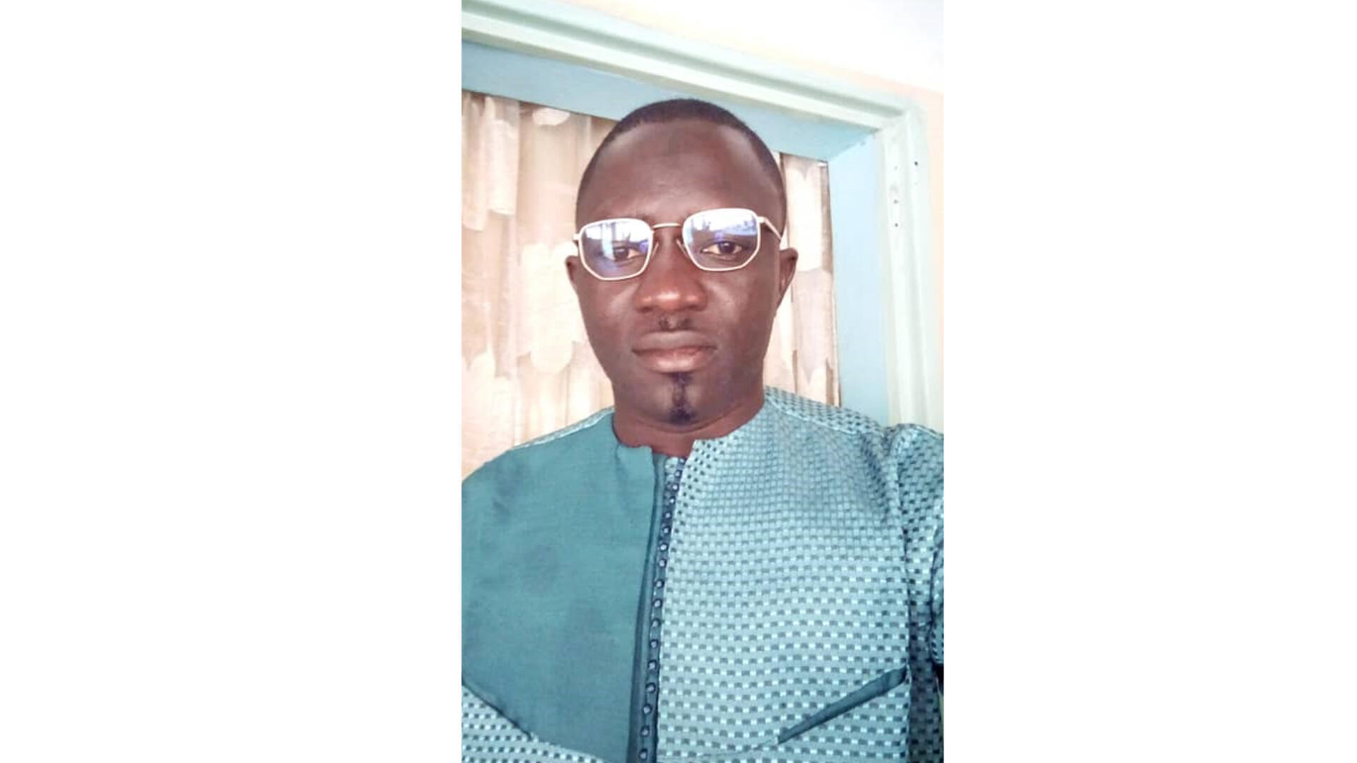Demba KANTE, professeur de français au Sénégal en Casamance.