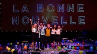 «La bonne nouvelle», de François Bégaudeau, dans une mise en scène de Benoît Lambert, à voir au théâtre La commune d'Aubervilliers.