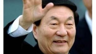中国前总理朱镕基 资料照片